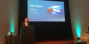 Sue Sullivan, chief executive officer CINZ