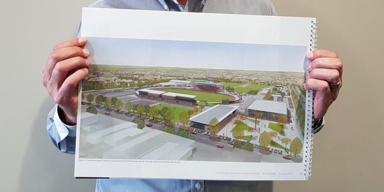 Palmy arena's expansion