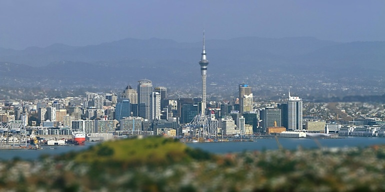 Auckland: Moving on up
